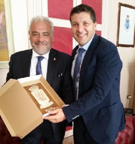 Ragusa, il questore Salvatore La Rosa ricevuto da Piccitto