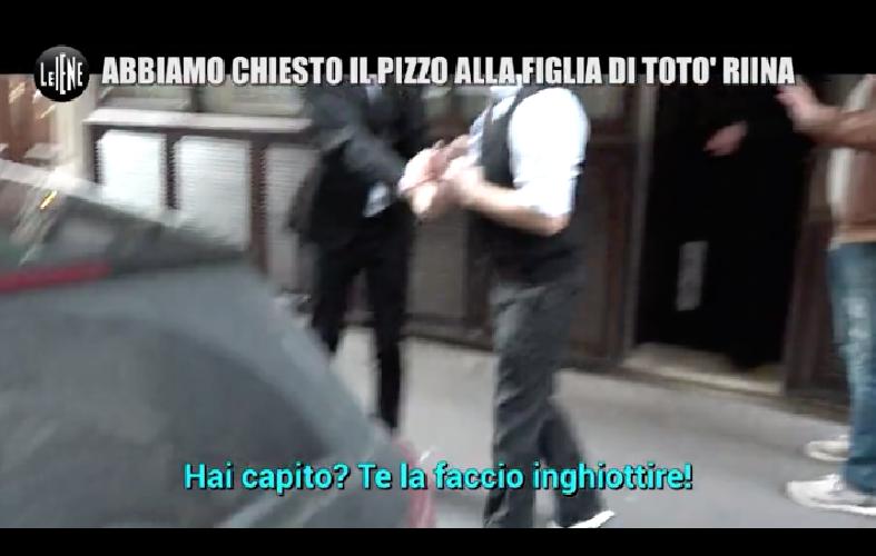 Le Iene chiedono il pizzo alla figlia di Totò Riina