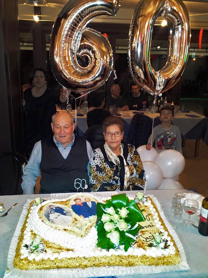 Sessantesimo Anniversario Di Matrimonio.60 Anni Di Matrimonio Per I Coniugi Di Rosa Scicli