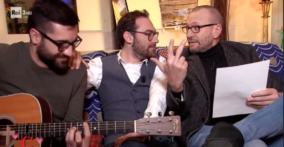 I fratelli Fiorello nel videoclip di Biagio Antonacci
