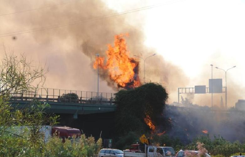 http://www.ragusanews.com//immagini_articoli/11-07-2017/catania-tangenziale-fiamme-traffico-deviato-500.jpg