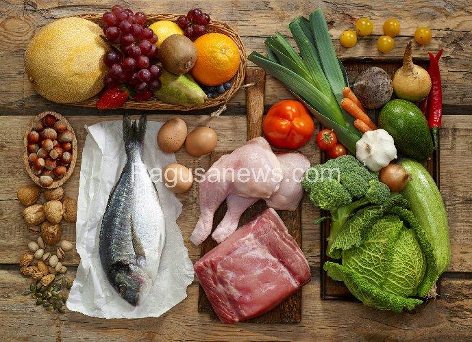 menù dietetico paleo settimanale
