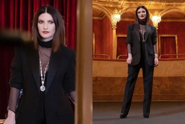 Laura Pausini in Valentino