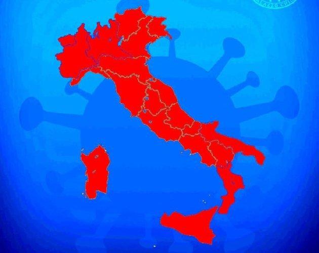 Italia zona rossa dal 3 al 5 aprile, cosa cambia. LE REGOLE