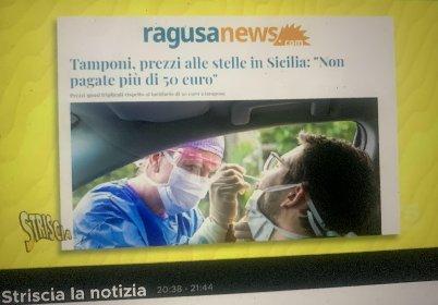 https://www.ragusanews.com//immagini_articoli/16-11-2020/caro-tampone-in-sicilia-striscia-la-notizia-cita-ragusanews-280.jpg