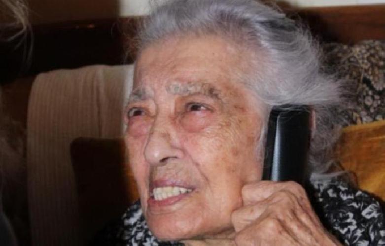 Compleanno speciale oggi a Canicattì: anziana signora festeggia 112 anni