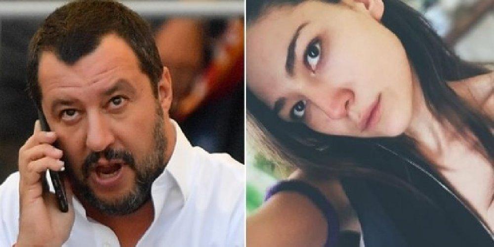 Matteo Salvini e la fidanzata Francesca Verdini in copertina su