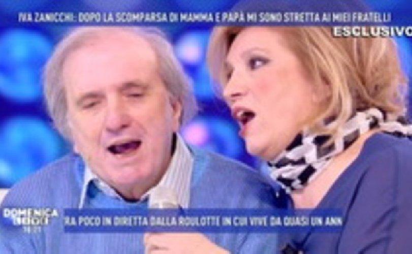 Iva Zanicchi piange il fratello Antonio, morto per Covid a 77 anni