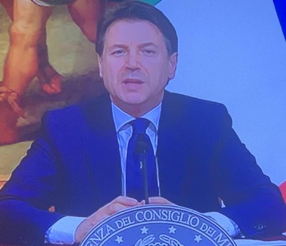 Il premier Giuseppe Conte: