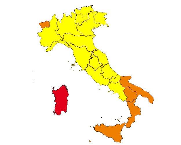 L Italia Cartina.Covid La Nuova Mappa Dell Italia E Le Nuove Regole Al Via Da Oggi