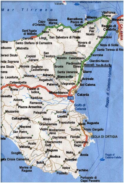 Cartina Dettagliata Sicilia Orientale.Terremoto La Paura Che Il Big One Colpisca La Sicilia Orientale