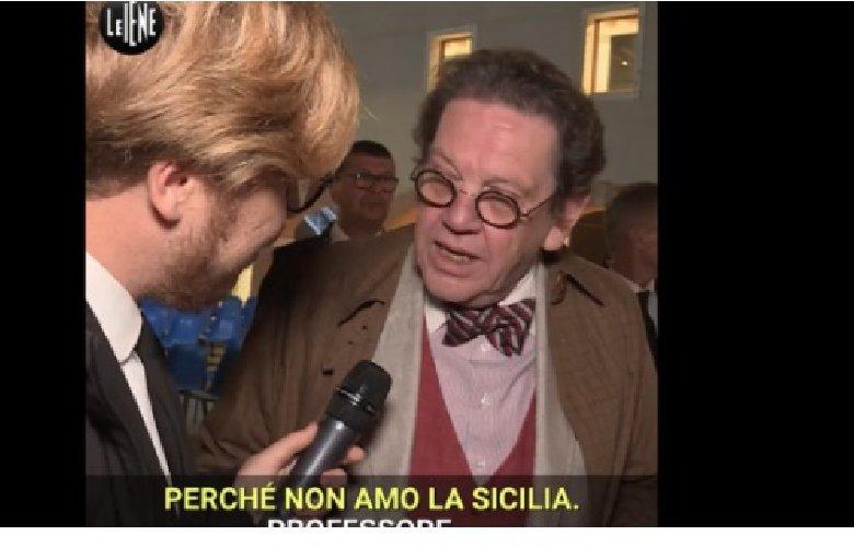 Daverio, che guaio in Sicilia. Musumeci: