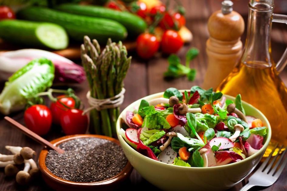 Una dieta vegetariana per perdere peso