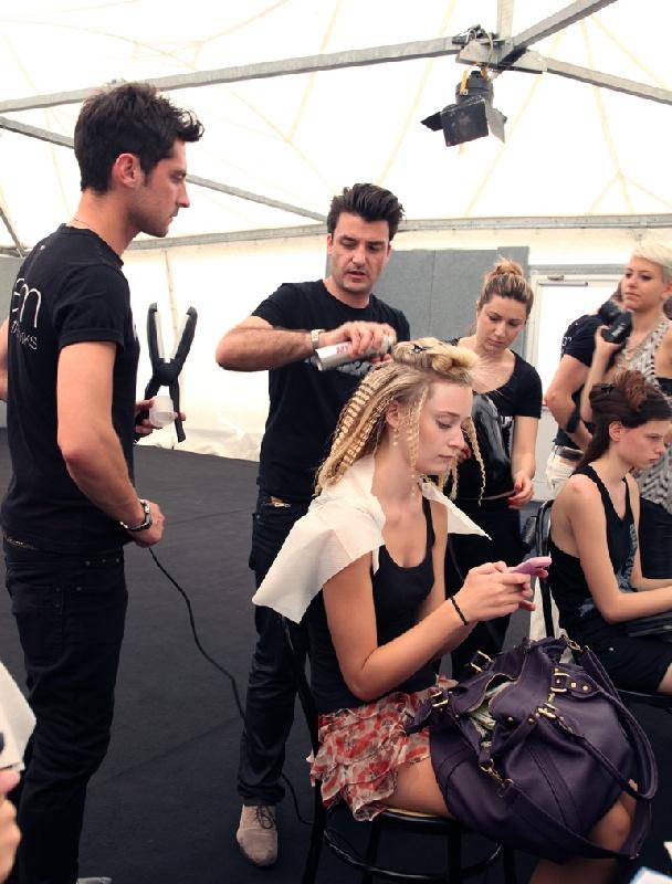 Toni pellegrino team leader alla sfilata dell istituto for Marangoni milano