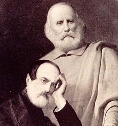 Giuseppe Mazzini and giuseppe garibaldi