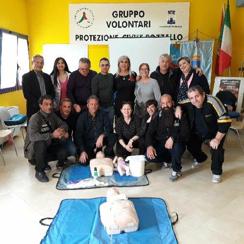 La protezione civile di pozzallo abilitata all 39 uso del for Gruppo inventa pozzallo