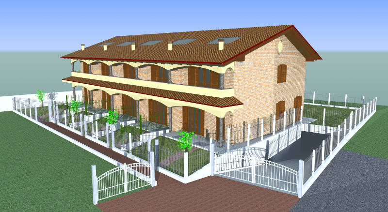 Villette a schiera indaga la procura - Casa a schiera progetto ...