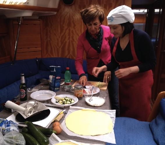 Sfida di cucina in barca a marina di ragusa ragusa - Articoli di cucina ...