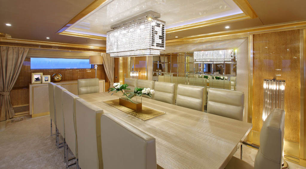 Arredamento Interni Yacht: Numptia super yacht l extra lusso arriva a ...