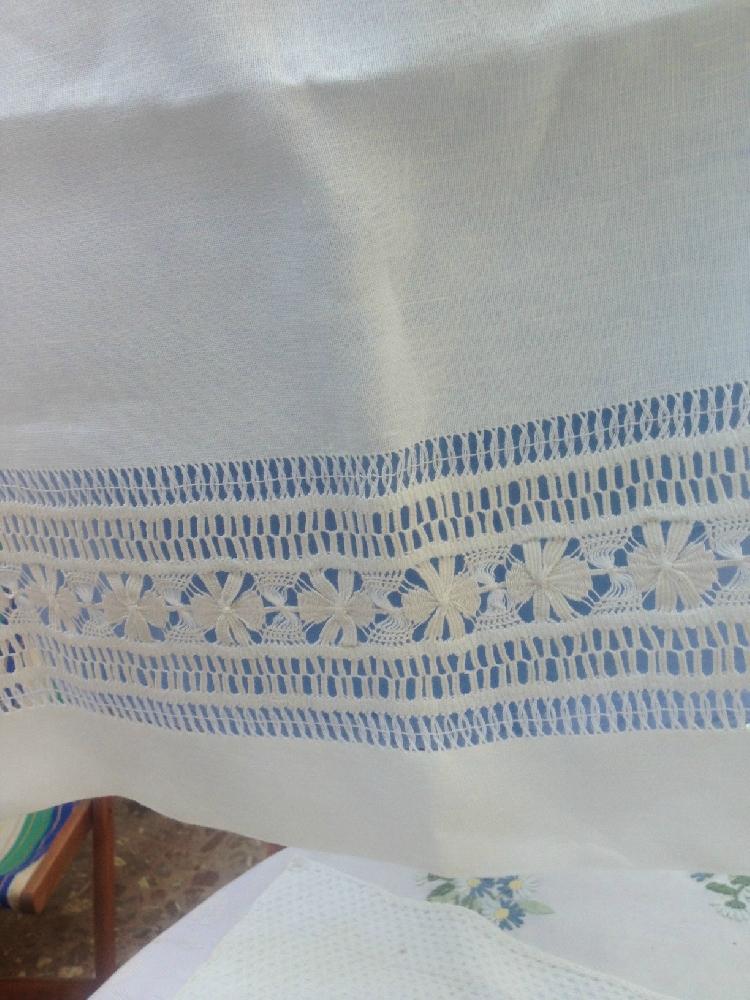 Vendo Asciugamano In Sfilato Siciliano Scicli