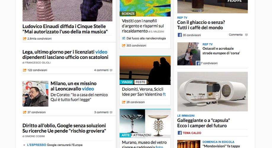Repubblica promuove in home il san valentino sciclitano scicli for Home page repubblica