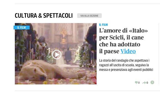 https://www.ragusanews.com/resizer/resize.php?url=https://www.ragusanews.com//immagini_articoli/11-01-2015/1420993516-2-il-corriere-della-sera-italo-il-cane-che-adotto-un-paese.png&size=809x500c0