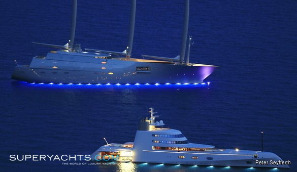 Lo Yacht Più Bello Del Mondo Nel Mare Di Scicli Foto Video