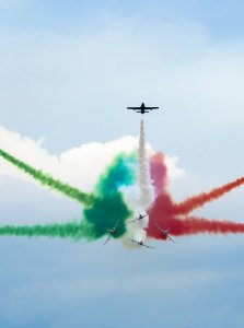 Frecce Tricolori a Donnalucata